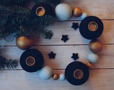 {DIY} krans træ kugler © goodiys.com