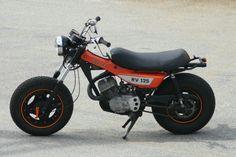Suzuki RV mod Custom Mini Bike, Custom Bikes, Suzuki Van Van, Electric Cycle, Honda Grom, Rv Mods, Cool Motorcycles, Ride Or Die, T Rex