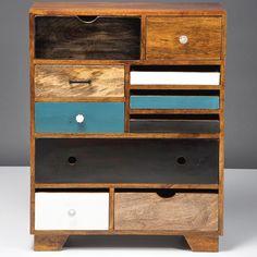 KARE Design Kommode Babalou 10 bunte Schubladen
