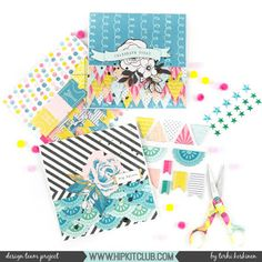 Do you like making cards? Designer created these stunning cards using the August 2017 Main and Add-On kits! Scrapbook Paper Crafts, Scrapbooking, Hip Kit Club, Crate Paper, Pocket Letters, Photo Projects, Card Making Inspiration, Paper Design, Homemade Cards