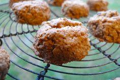 Biscuits aux flocons d'avoine et trois noix - végétalien