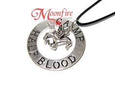 PERCY JACKSON Camp Half-Blood Pegasus Necklace