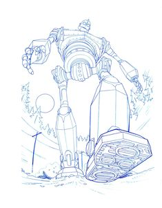IRON GIANT STEP by *Jerome-K-Moore on deviantART