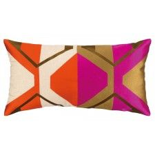 Trina Turk La Playa Embroidered Pillow, Magenta