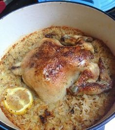 Chicken-and-Rice-One-Pot-Dinner