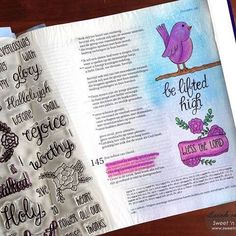 This page is so sweet and beautiful. Lucinde shares her Psalm 145 journaling page on our Creative Worship blog -- and shows a SNEAK PEEK of a new set soon to be released! Go take a peek at her post: http://ift.tt/23CHA8e  #sweetnsassystamps #cwsnsscreativeteam #snsscreativeteam #biblestudy #bibleart #journalingbiblecommunity #biblejournalingcommunity #scriptureart #clearstamps #bibleartjournaling #illustratedfaith #creativeworship #istampinmybible http://ift.tt/1KAavV3