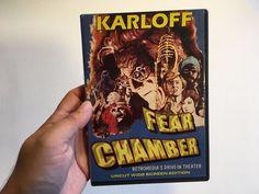 FEAR CHAMBER  (DVD, 2001) RARE 1968 BORIS KARLOFF HORROR