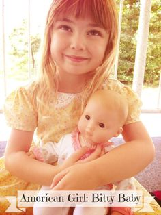 Melissa Vodehnal, this girl looks like bailey.  American Girl Relaunches Their Bitty Baby Line!