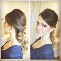 Sandy: penteado para casamento