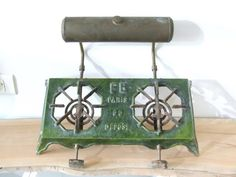 French Antique Kerosene Cooker by VintageRetroOddities on Etsy