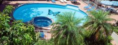 Surfers Tradewinds Holiday Apartments - Pool Facilities - Holiday Apartments Surfers Paradise