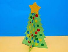Árvore de Natal Artesanato de uso adesivos para enfeites (Criança)