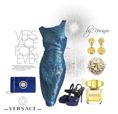 """""""VERSACE FOREVER"""" by nurinur ❤ liked on Polyvore featuring Versace and Versus"""
