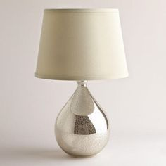 Martina Aged Mirror Table Lamp | World Market