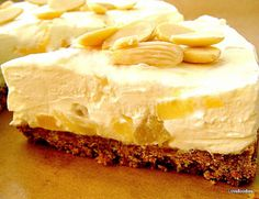 Creamy Pineapple Cheesecake - Lovefoodies hanging out! Tease your taste buds!