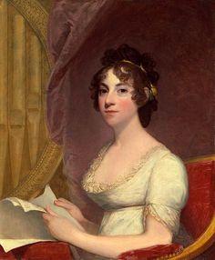 Gilbert Stuart, Anna Maria Brodeau Thornton (Mrs. William Thornton)