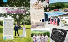 Our photographs of Stephanie & Adam's Sunny Marquee Wedding as featured in the Independent Magazine. Stephanie Adams, Marquee Wedding, You Are My Sunshine, Just Married, Couple Photography, Irish, Photographs, Photo Wall, Magazine