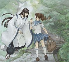 Spirited Away (A few Years later...) Artwork by janey-jane
