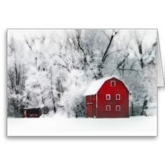 Country winters, Christmas cards