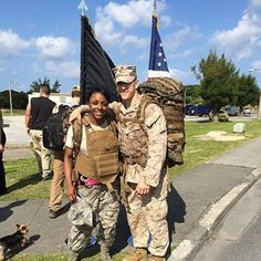 """Tonya shares.... """"Today we went on an 8.4 mile hump to honor the WW2 vets who marched for 60 miles in the Bataan Death March.""""  .....  #PinnedFromInstagramOnApril2014 #MilitaryFamillyLove"""