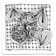 Zentangles... Need to turn into an embroidery!