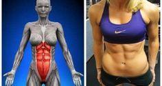 Seque a barriga em menos de um mês fazendo apenas este incrível exercício | Cura…