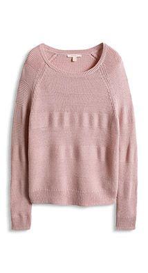 Esprit / Bändchengarn-Pulli mit Struktur Sweaters, Style, Fashion, Sweater Cardigan, Jackets, Breien, Moda, Stylus, Pullover
