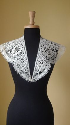 Bobbin Lace Collar, $85.00