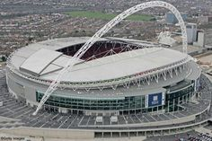 ff406558af The New Wembley Stadium. The home of English Football. Esportes