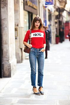 "French ""It""girl #JeanneDamas"