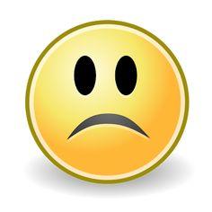 Sad Face Symbol for Facebook | Sad Face Emoticon Facebook Smile Icon, Computer Icon, Sad Faces, Tango, Graphic Art, Vector Free, Clip Art, Drawings, Creative