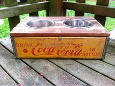 If you are looking for vintage wooden crates, flea markets are a great place to find them. You can also find them at some antique stores.