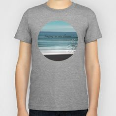 Longing to the Ocean I Kids T-Shirt by Pia Schneider [atelier COLOUR-VISION] - $20.00. #photography #typography #ocean #impressionism #abstract #beach #nature #landscape #crete #cretansea #mediteran #society6 #artprint #shirts #tshirts #kids #kidshirts #clothes #men #women  #cotton #unisex #fashion