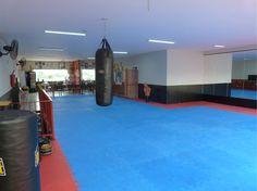 Projeto do escritório Bel e Tef Atelier da Reforma - Academia Núcleo de Kung Fu Shaolin.