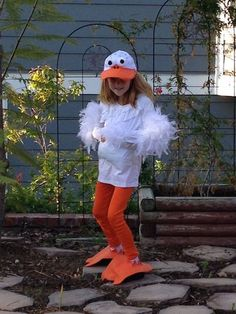 Creating a Duck Costume for Kids - Kristibug