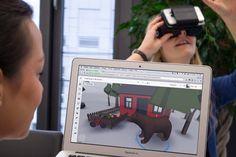 VR-Entwicklung mit Delightex einfacher denn je. #virtualreality #vr #virtual #reality