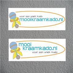 Logo design for Mooikraamkado.nl   Designed for a pitch   Interested in a logo? www.beeldkrachtontwerp.nl