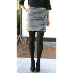 Getting Away With It Skirt - $46.00