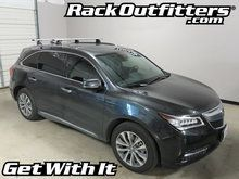 Acura MDX Thule Rapid Podium SILVER AeroBlade Base Roof Rack '14-16*