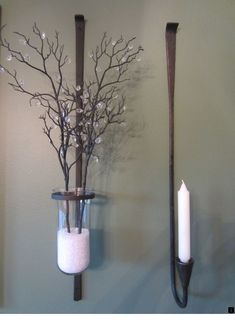 """Explore our internet site for additional relevant information on """"metal tree wall art hobby lobby"""". It is actually a superb spot to read more. Wall Mounted Candle Holders, Candle Wall Sconces, Wall Sconce Lighting, Hobby Lobby, Vinyl Shutters, Metal Tree Wall Art, Metal Art, Hanging Candles, Unique Home Decor"""