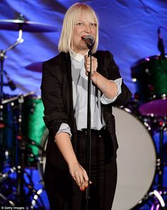 The Chandelier hitmaker has sealed a sample of her breath in a glass jar to be auctioned off for charity at the Fringe Film Festival in South Australia on Friday. Sia Singer, Aesthetic Grunge Black, 1000 Forms Of Fear, Sia The Greatest, Sia Kate Isobelle Furler, Sia Music, Sia And Maddie, Dark Stories, Women In Music
