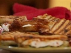 Tune in Weekdays @ 12:30p, check out http://tlc.howstuffworks.com/tv/kitchen-boss/#mkcpgn=yttlc1 | A bruschetta and pepper panini and a mouth watering chicke...