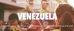 """Flashmob Venezuela. Desde los alrededores de la Plaza Baralt en mi ciudad de Maracaibo, estado Zulia, """"La Tierra del Sol Amada""""."""