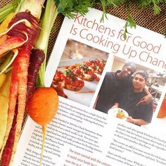 We are so excited and honored to have a two-page feature about our work in @ediblesd! Have you picked up your copy yet? Find it at your local #FarmersMarket! (#CrazyCarrots courtesy of #MacielFamilyFarms! ❤️)