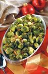 Roast Brussels Sprouts with Almonds