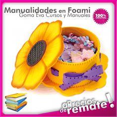 Foamy Art Dise Os Y Patrones Para Manualidades En Goma Eva Foami  con cd