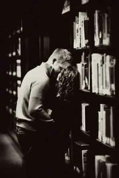 Things to do before I die: kiss in the library.....