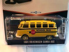 1:64 Greenlight Club Vee-Dub Series 6 * 1964 Volkswagen Samba Bus #Greenlight #Volkswagen