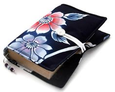 Paperback Book Wrap Blue Floral Vintage Kimono by WhimsyWooDesigns, £16.00