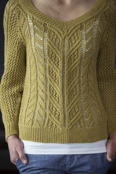 Midsummer Aran - Media - Knitting Daily #knit